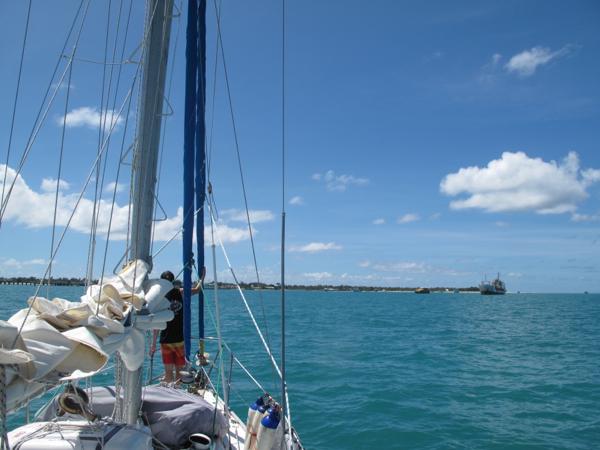 Arrival Kiribati