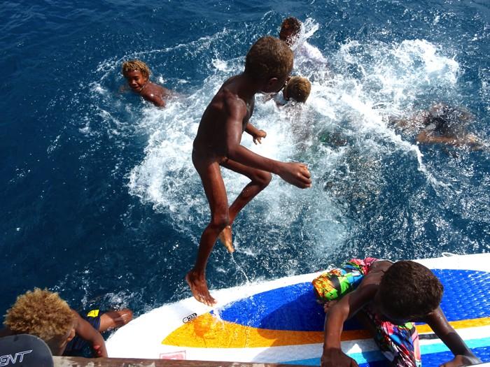 Paddle board splashers
