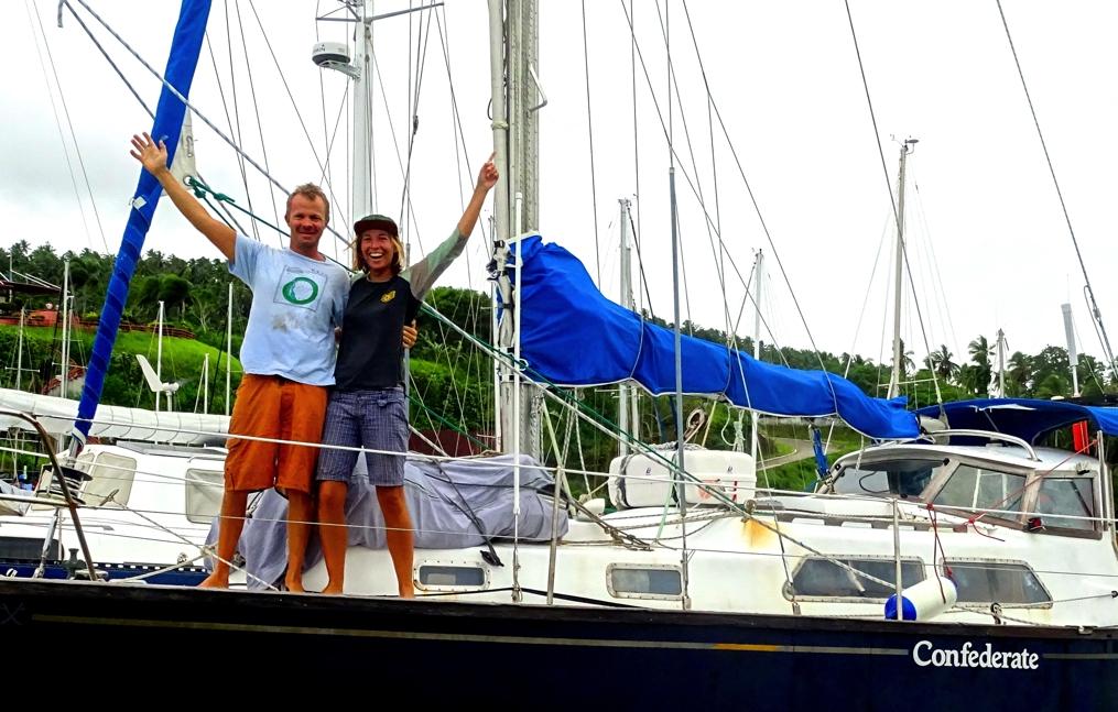 Arrival in Davao at Holiday Oceanview Marina. Ye ha